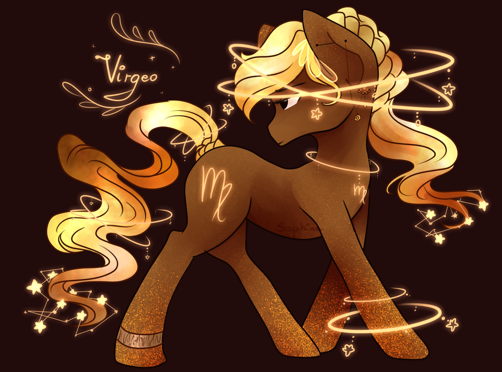 Zodiac Pony Virgo by SaphireCat11