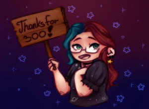 Thanks for 300