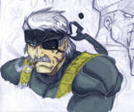 Metal Gear 4 - Old Snake