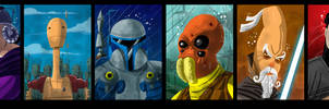 STAR WARS characters 2 by themico