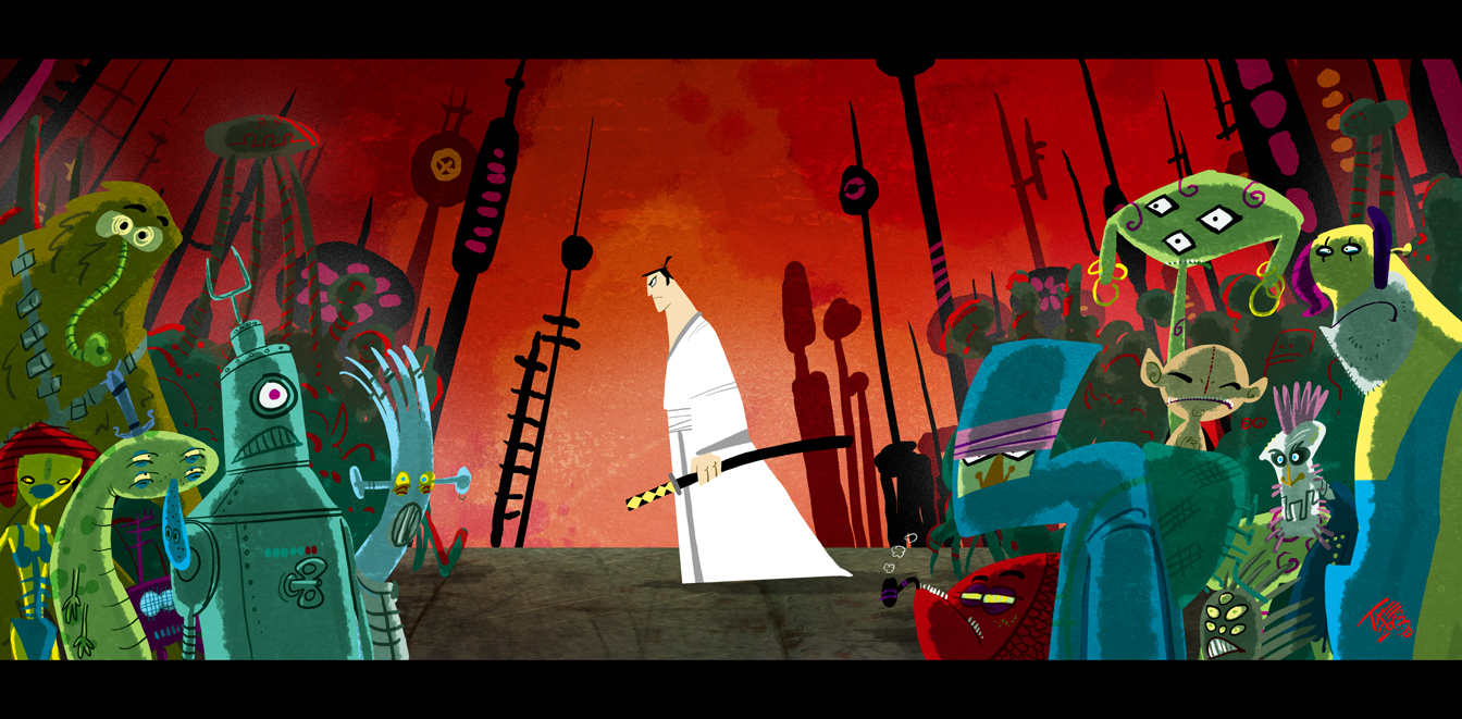 Samurai Jack by themico