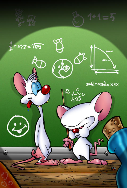 Pinky and the brain by themico on deviantart pinky and the brain by themico thecheapjerseys Images