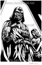 Darth Vader Commission by David-Daza