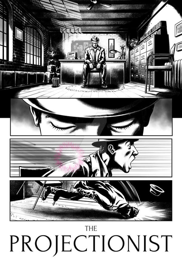The Projectionist #01 page 13