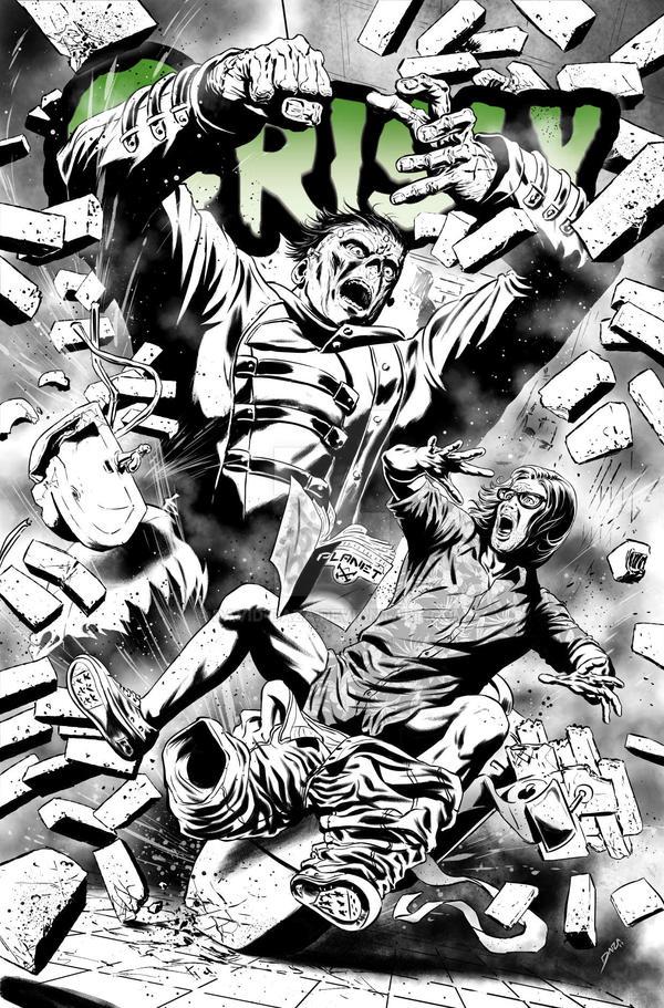 Grisly - Frankenstein vs Frank Williams