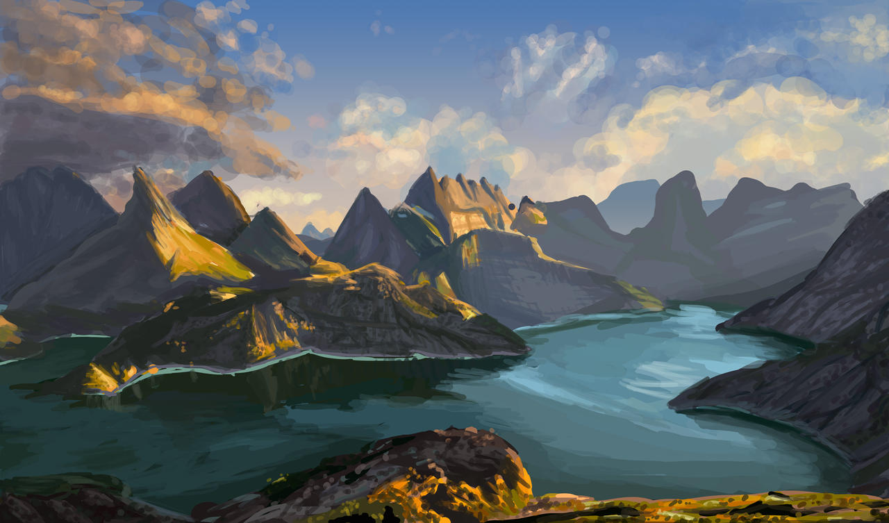 Simple Pictures To Pratice Digital Painting