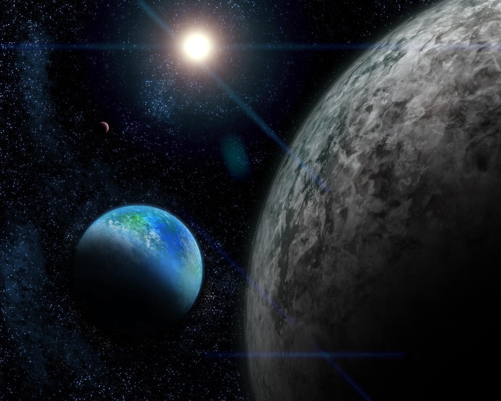 SpaceScape by Ephisus