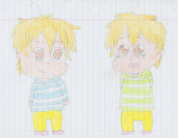 Takuma and Kazuma, my version by AriaVampireRose7