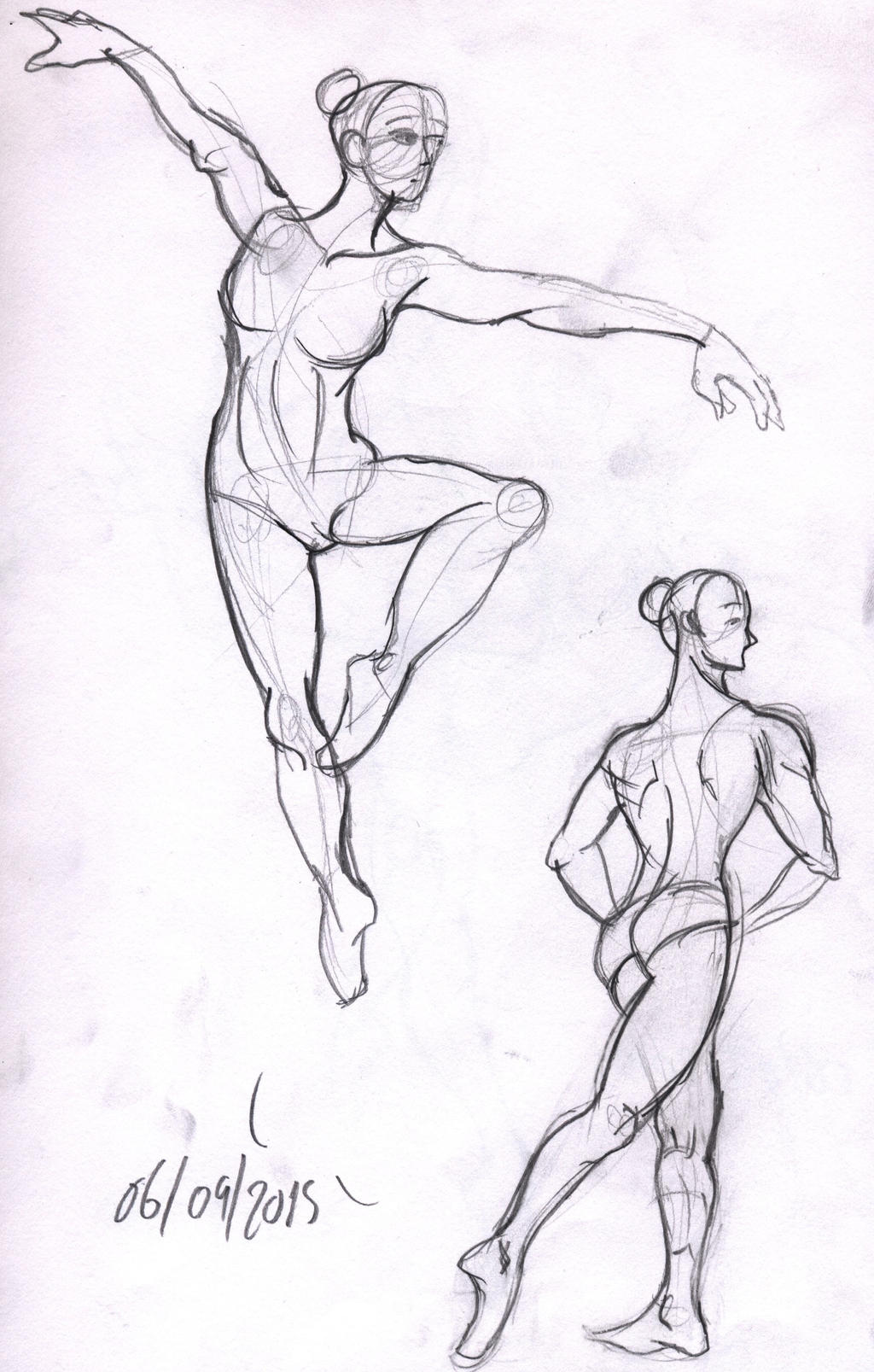 Female Ballet Poses 05 By Zup3rc8k13 On Deviantart