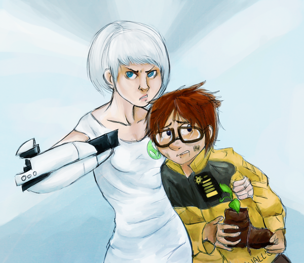 WALL-E: Don't mess with EVE by schellibie