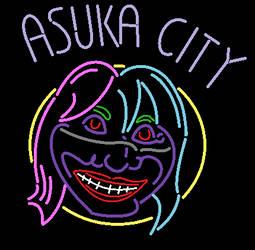 Asuka Neon by WWBitArt