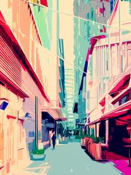 Iridescent Alley
