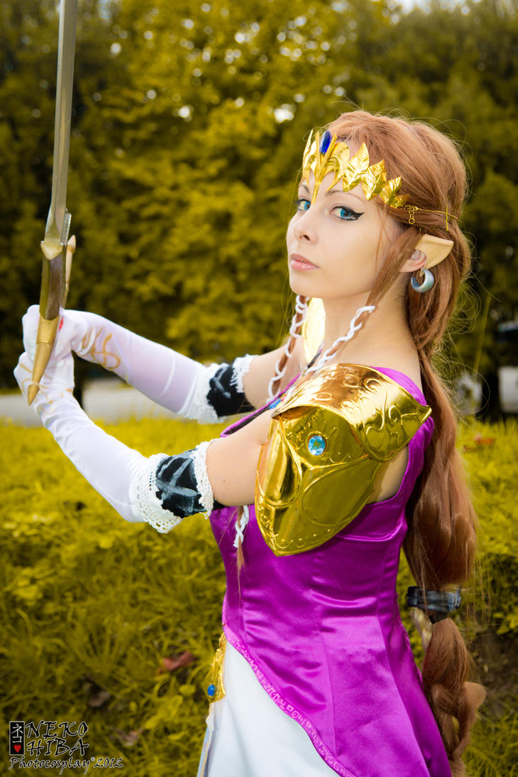 Princess Zelda by NekoHibaPC