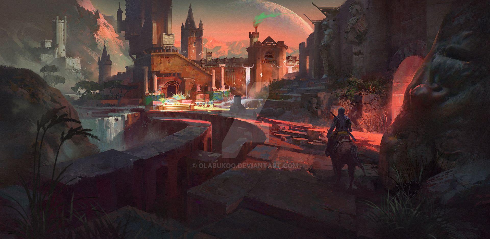 Secret Ruined Temple 02 by Olabukoo