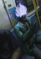 subway dude by Olabukoo