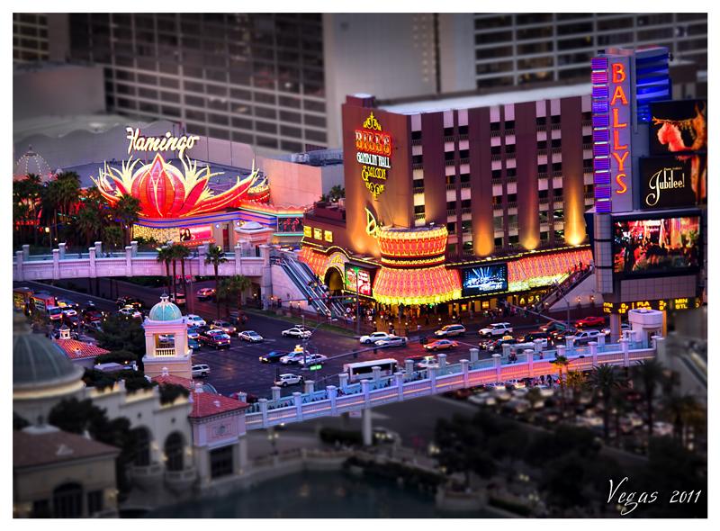 Vegas 2011 - Tilt Shift by Recalibration