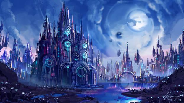 Underworld Night City - Commission
