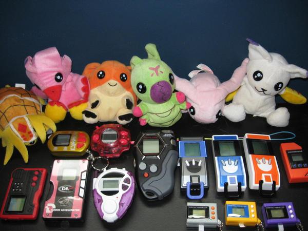 Digimon Stuffs by Icedevimon13