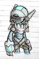 [SK]The Gunner by PinkyHedgehog