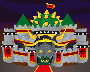 Bowser's Imperial Castle (Bowser Day 2021)