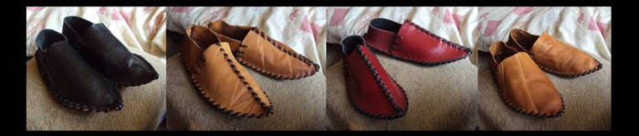 Medieval Shoes by Restyler