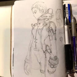 Blue Submarine 6 Sketching Master copy