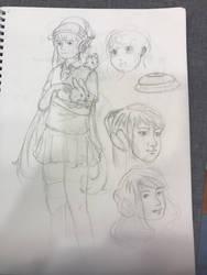 Character Redraw by 1nakata