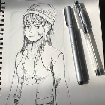 DVA sketch by 1nakata