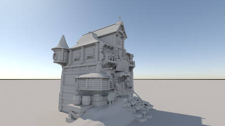 A Fantasy House by 1nakata