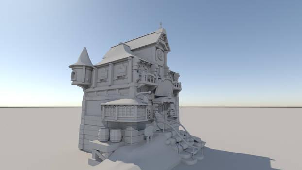 A Fantasy House