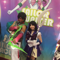 Lei Ren with Sailor Saturn