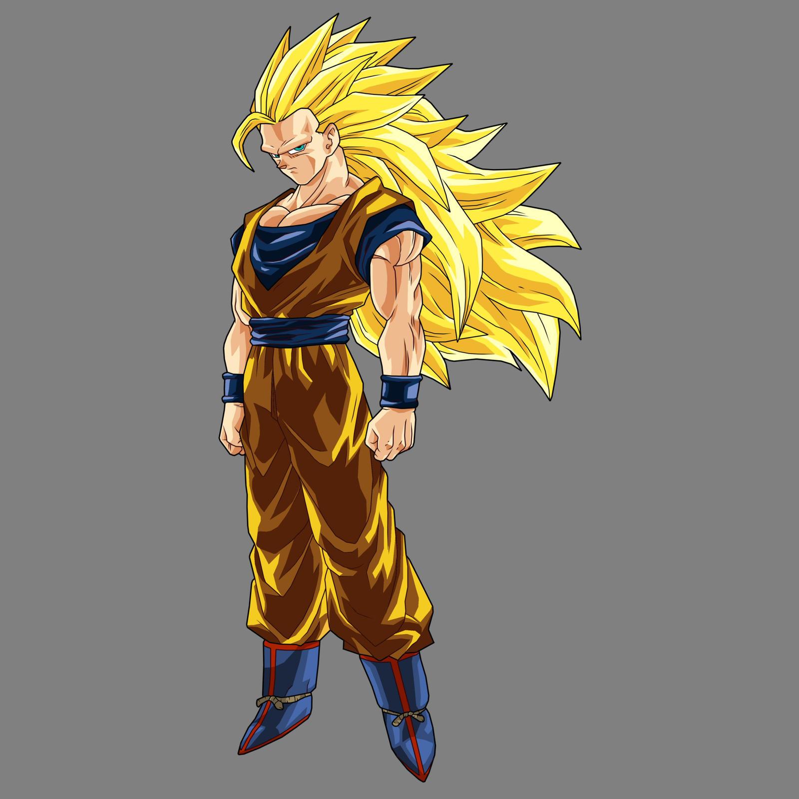Goku SSj3 v2 by drozdooGoku