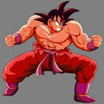 Goku Triple Kaioken