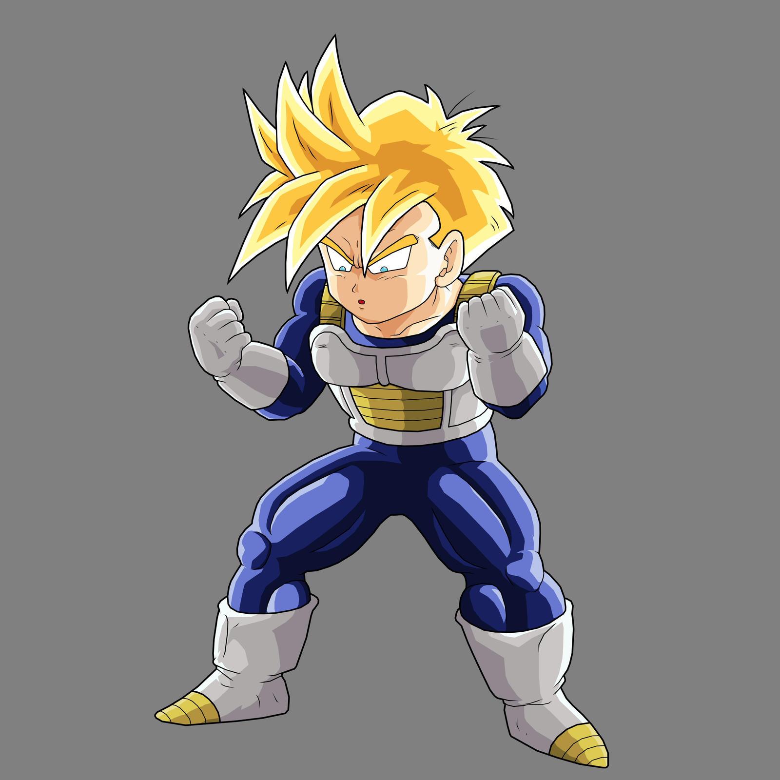 Teen Gohan Super Saiyan God