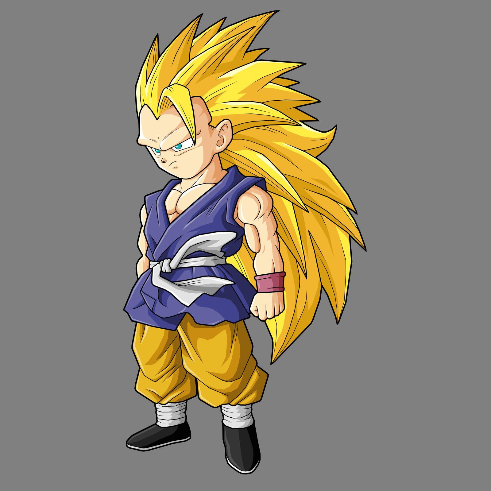 Goku GT SSJ3 by drozdooGoku