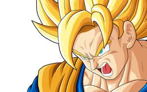 Goku  SSJ by drozdoo