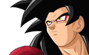 Goku  GT SSJ4 by drozdoo