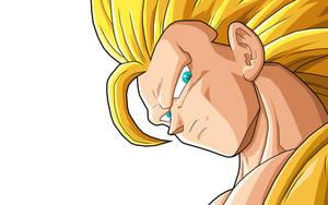 Goku  SSJ3 by drozdoo