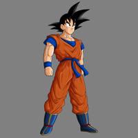 Goku base - remake by drozdoo
