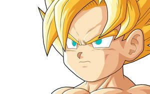 Goku  GT SSJ by drozdoo