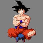Goku Base Mid by drozdoo