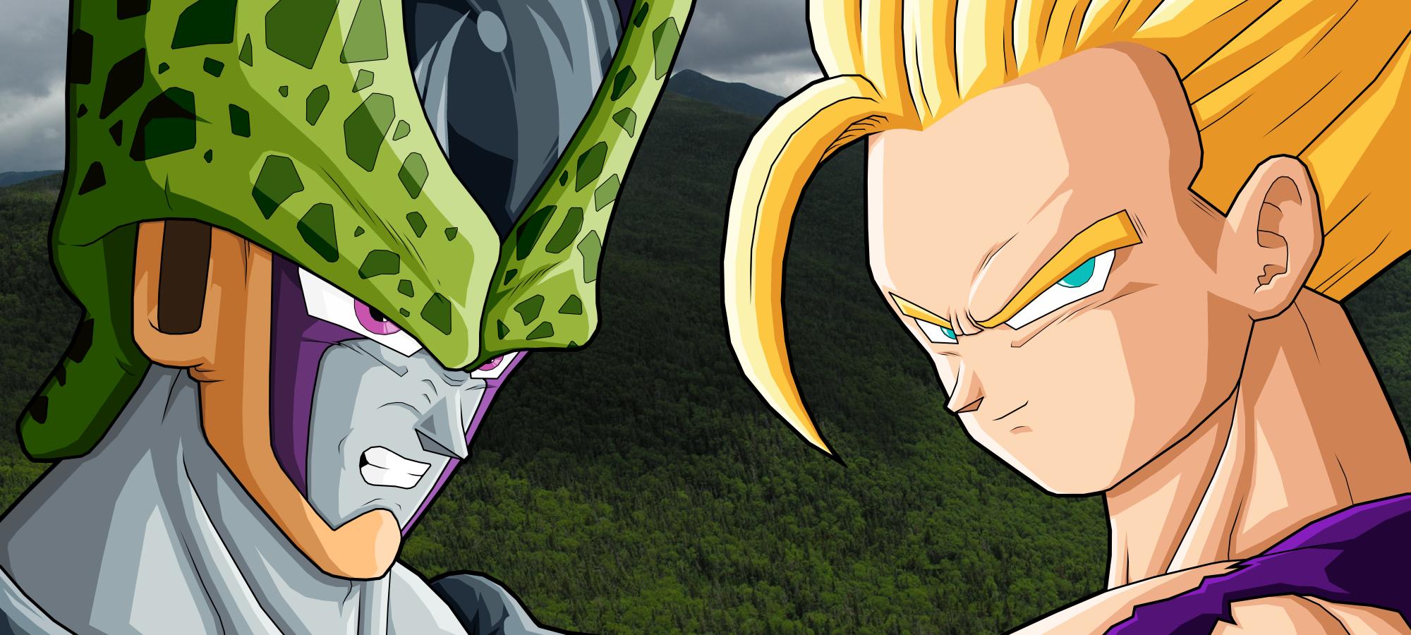 Gohan Vs Cell Megatema Dragon Ball Z Comunidad Of En Taringa