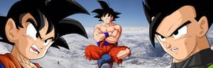 Goku Gohan Goten