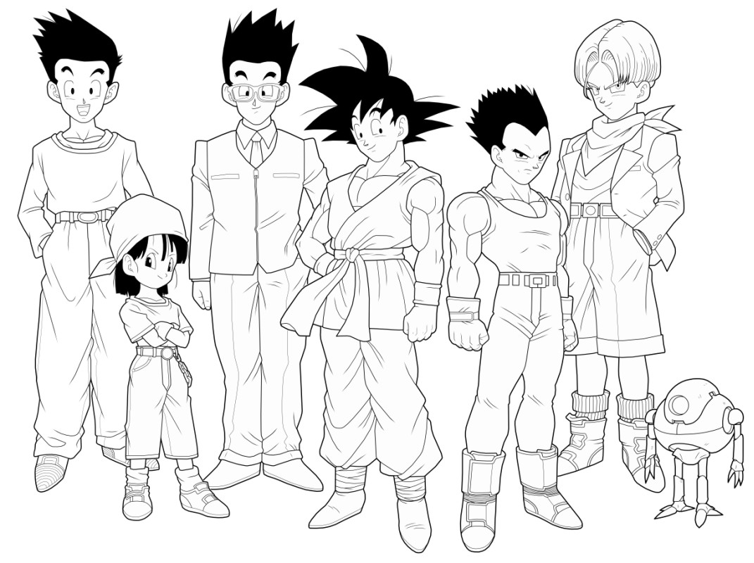 Dragon Ball GT 2nd preview by drozdoo on DeviantArt
