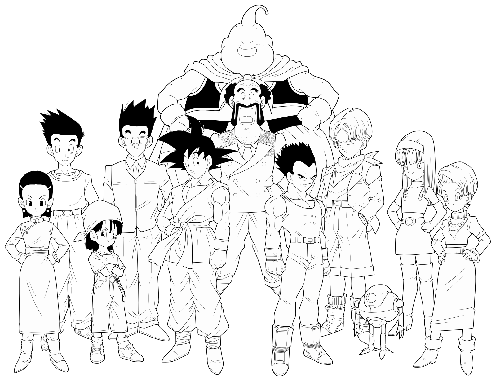 dragon ball gt 4th preview by drozdoo on deviantart