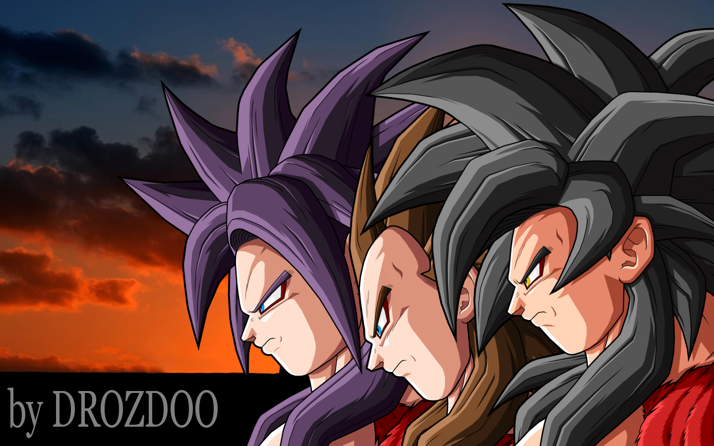 Dragon Ball Z Images SSJ4 Goku And Vegeta HD Wallpaper