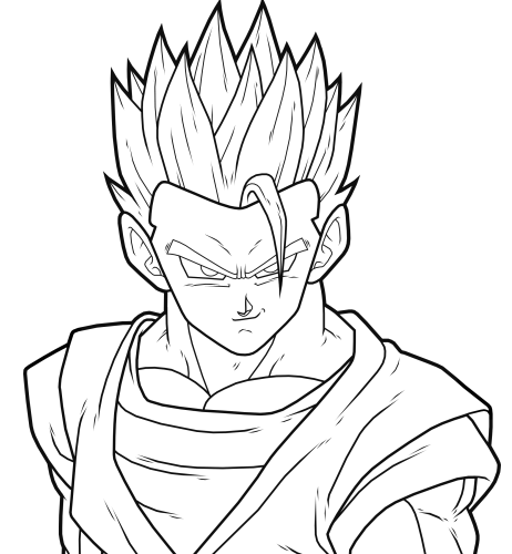 mystic gohan preview by drozdoo on deviantart