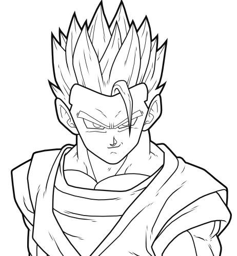 how to draw goku super saiyan 2 full body