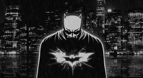 Dark Knight Wallpaper by drozdoo