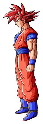 Goku SSGod